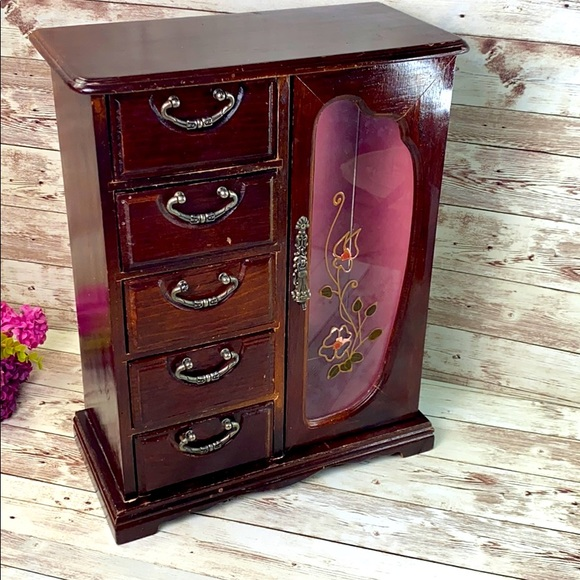 Sold Vintage Large jewelry box